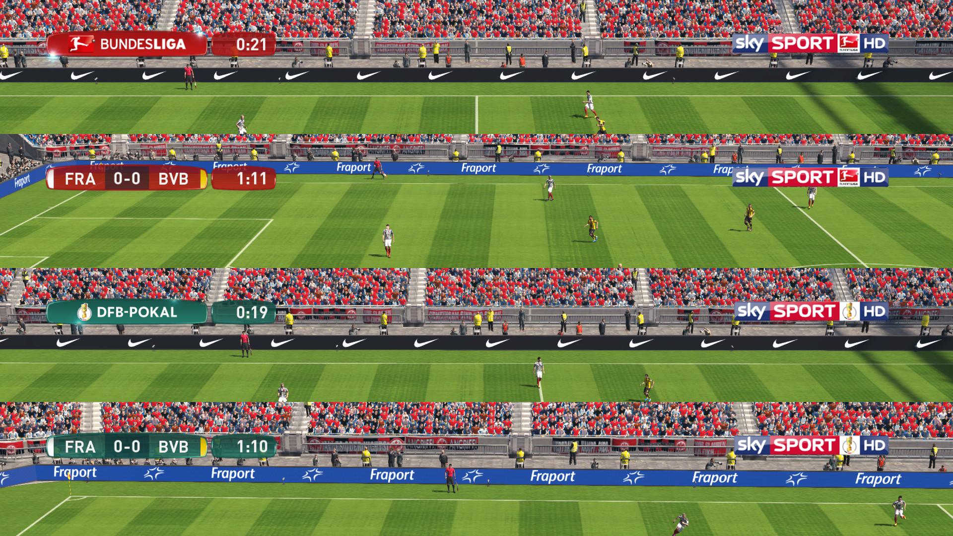 German scoreboards by 1002MB