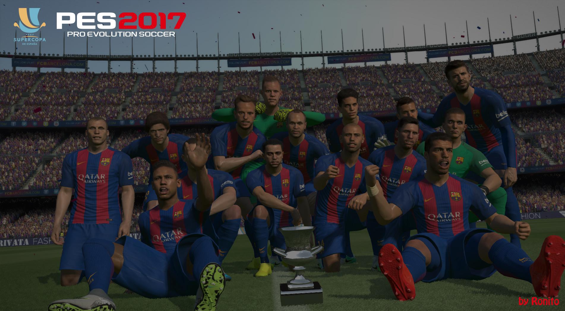 LaLiga & Supercopa de España trophies by Ronito
