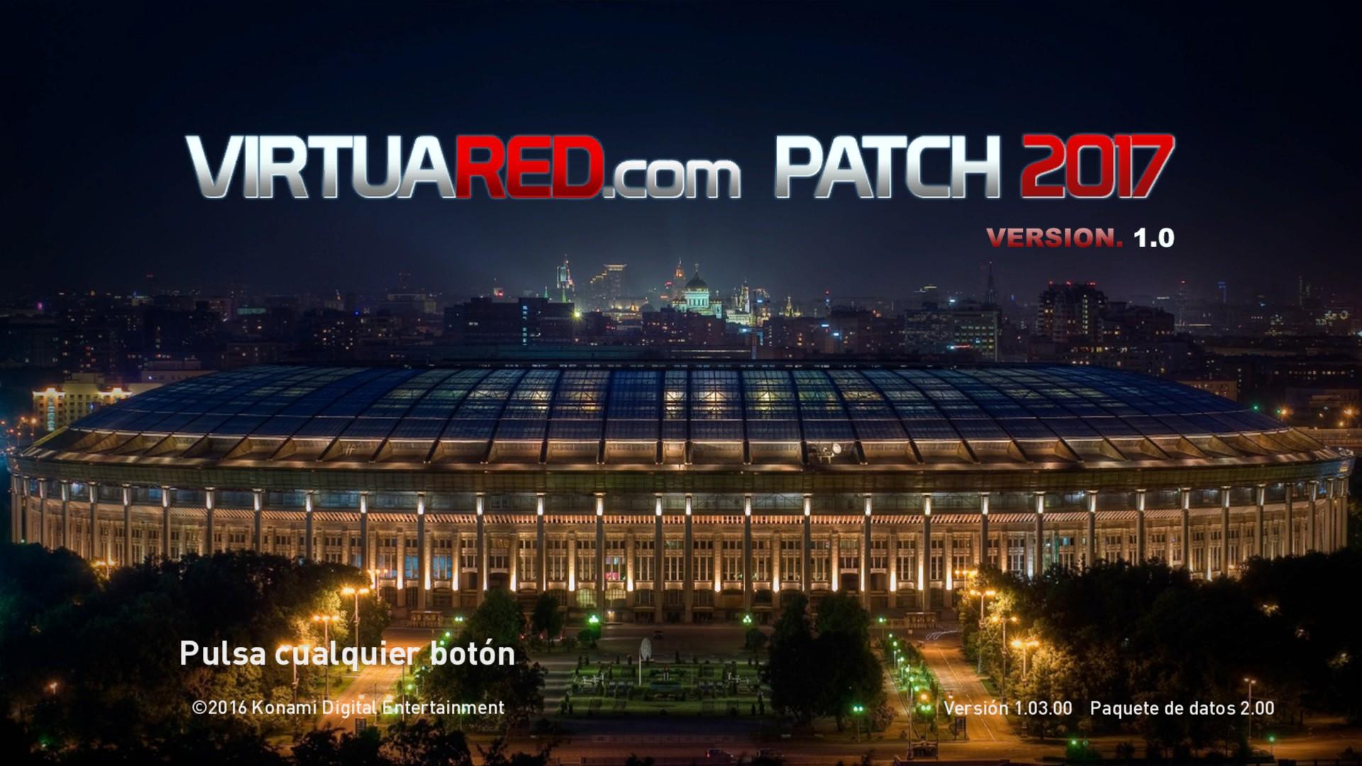 VirtuaRED.com Patch 2017 v1 ¡ya disponible!