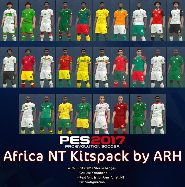 Africa NT kitspack by ARH