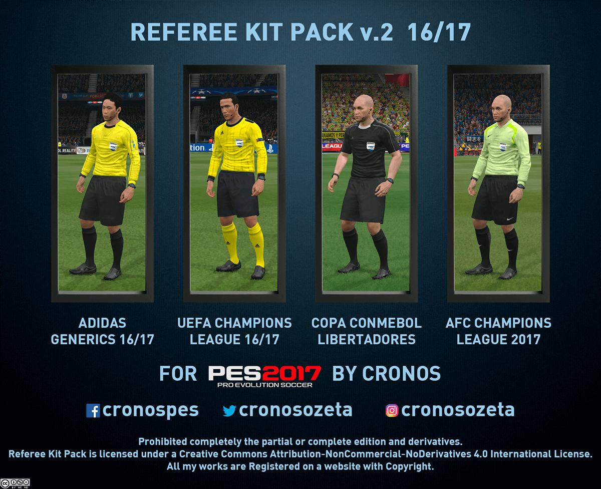 Kit pack de árbitros 16/17 v2.0 by Cronos