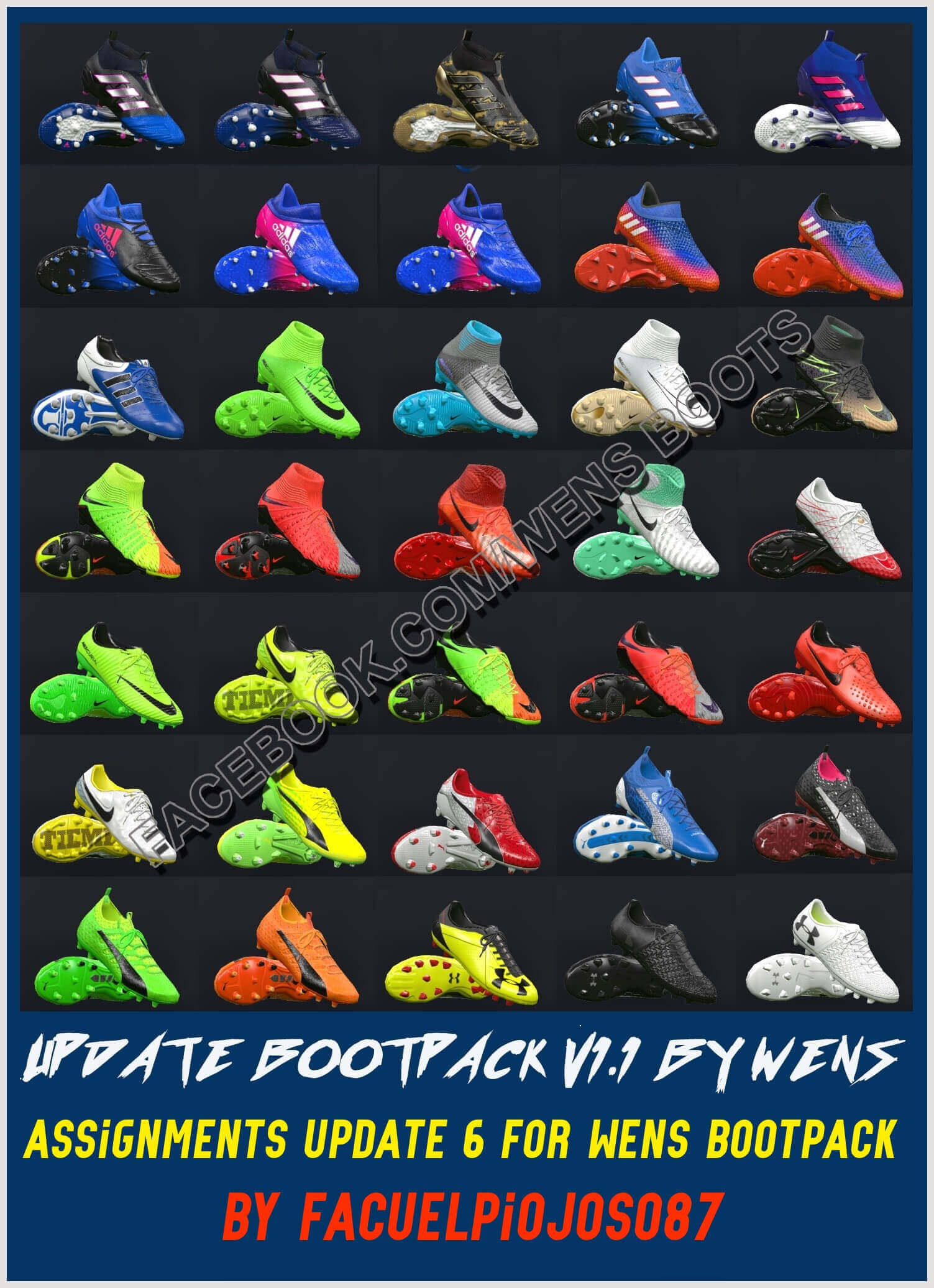 Boots Assignments for WENS Bootpack v1.1
