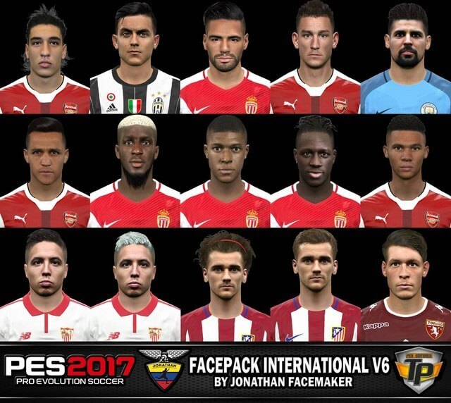 Facepack International v6 by Jonathan