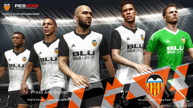 Valencia CF Startscreen by ABW