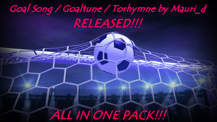 Goal Songs Pack by Mauri_d