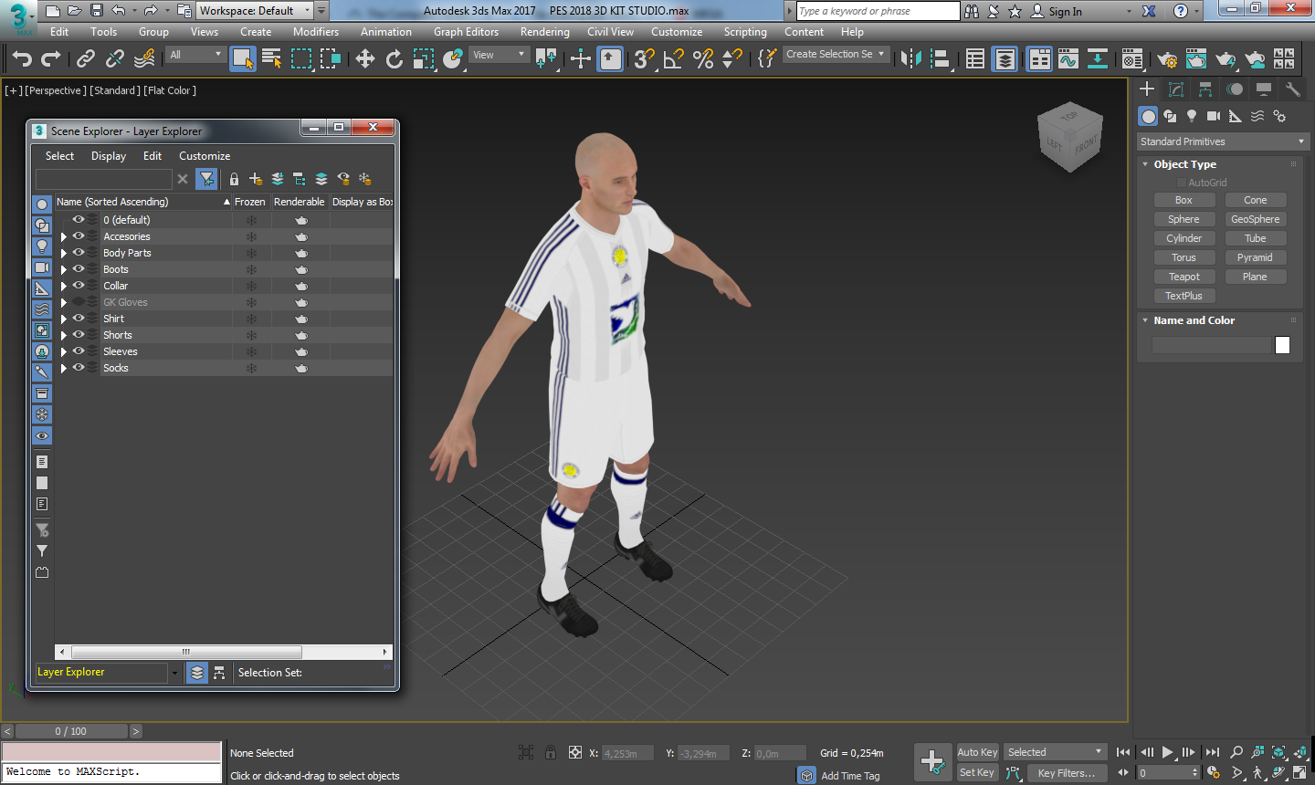 PES2018 3D Kit Studio [Blender] by Simonetos The Greek