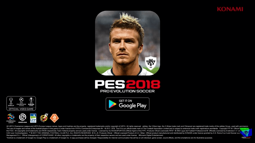 Trailer Oficial de PES 2018 Mobile