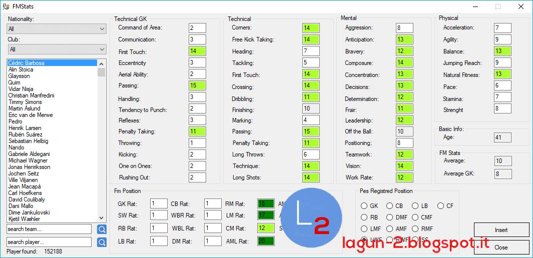 Team Editor Manager 2018 v3.5.2 by Lagun-2