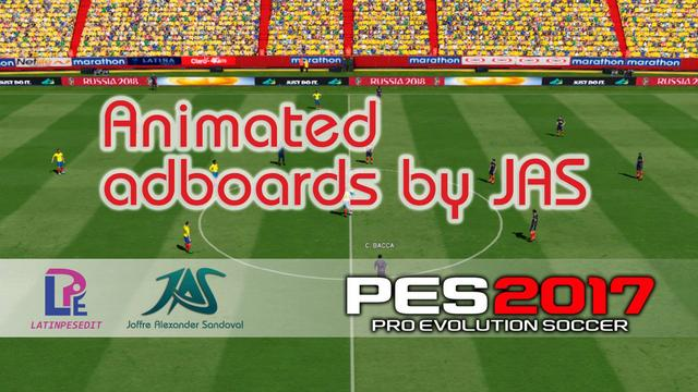 Animated Adboards Russia 2018 by JAS
