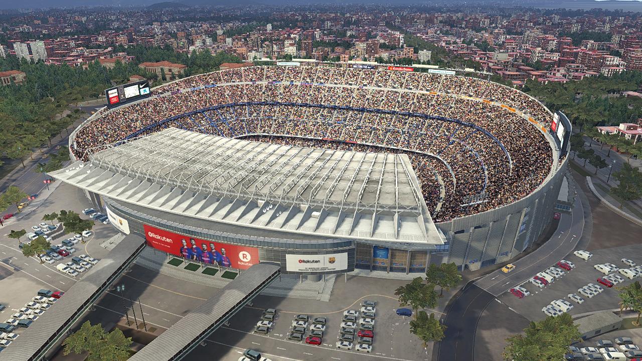 Camp Nou mod v2 by Txak