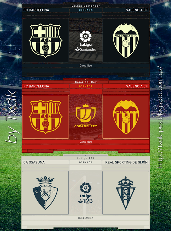 Spanish Scoreboards Pack by Txak