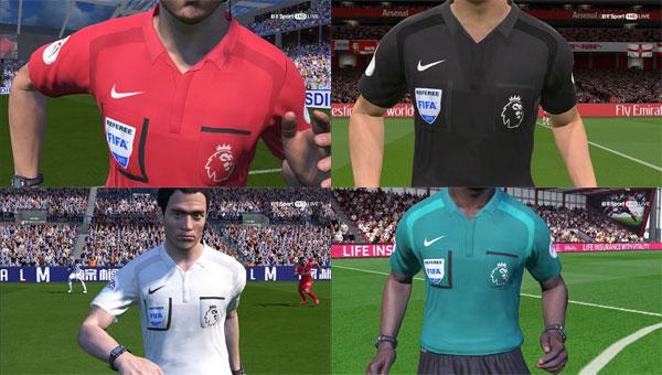 EPL Referee Kits 17/18 by Hendri SimZ