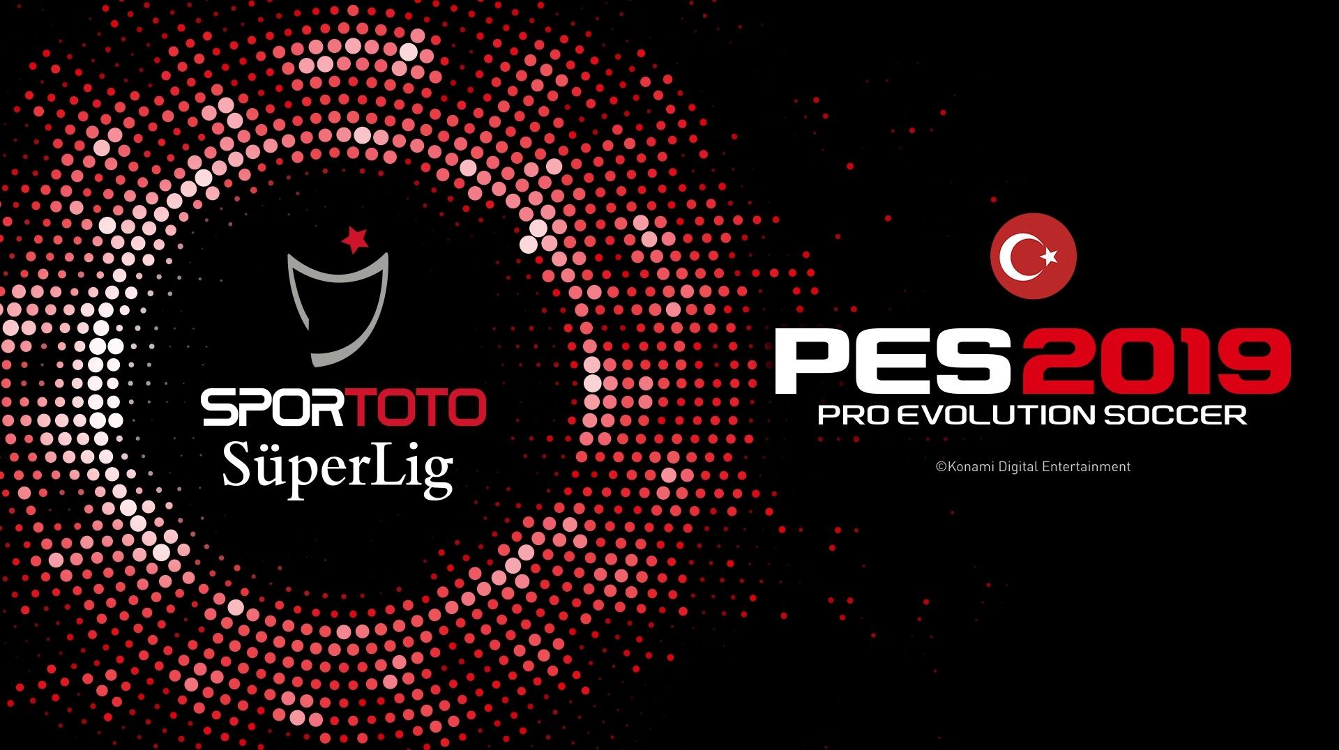 PES 2019 tendrá la licencia de la Süper Lig turca