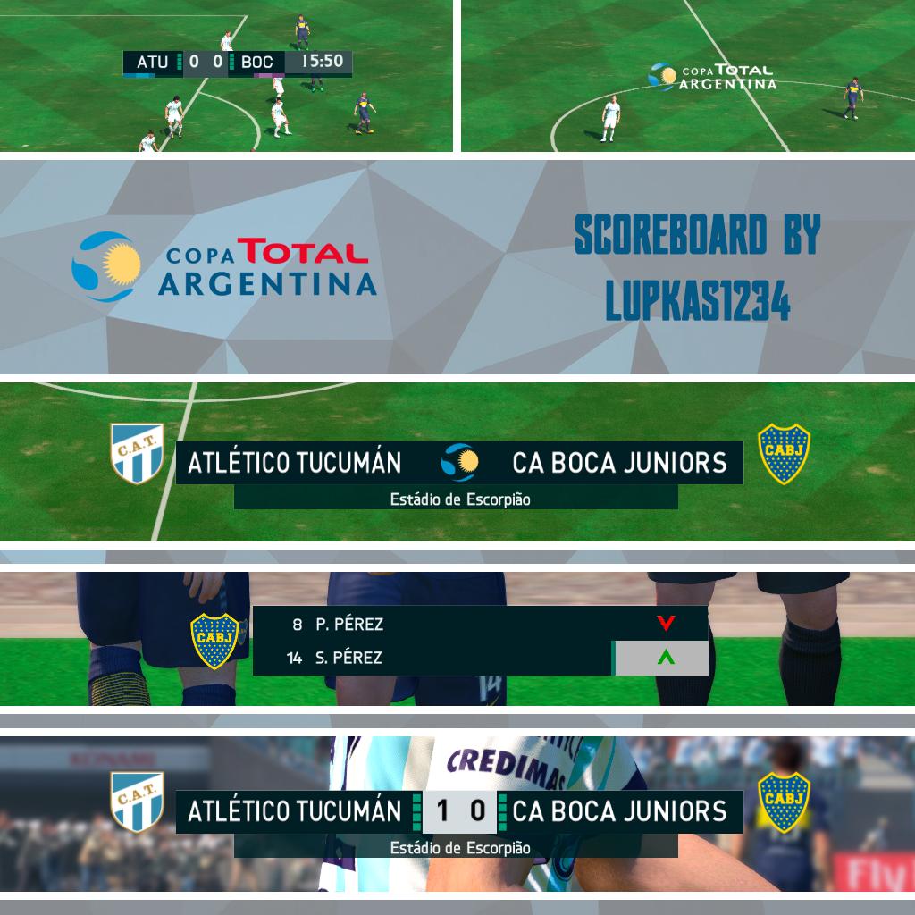 Marcador Copa Argentina 2018 by Lupkas1234