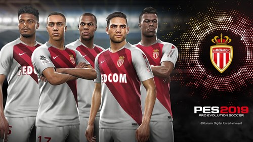 AS Mónaco, equipo partner de PES 2019