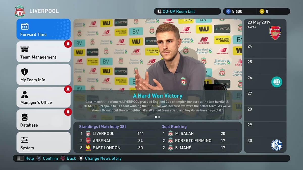 Información sobre la nueva Liga Máster de PES 2019