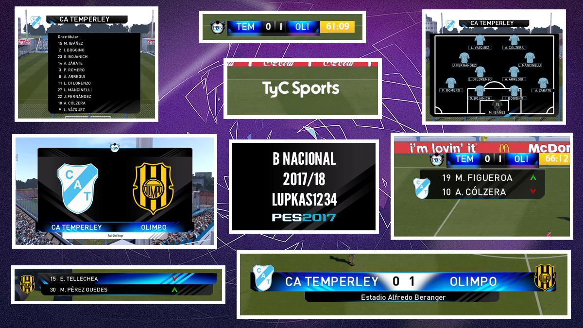 Marcador Primera B Nacional by Lupkas1234