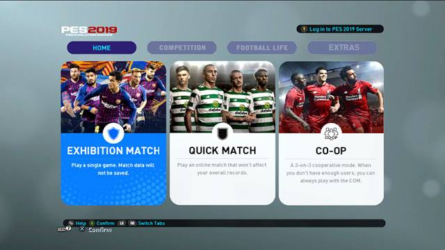 PES 2013 Pro Team Patch 2019 Mini-Patch