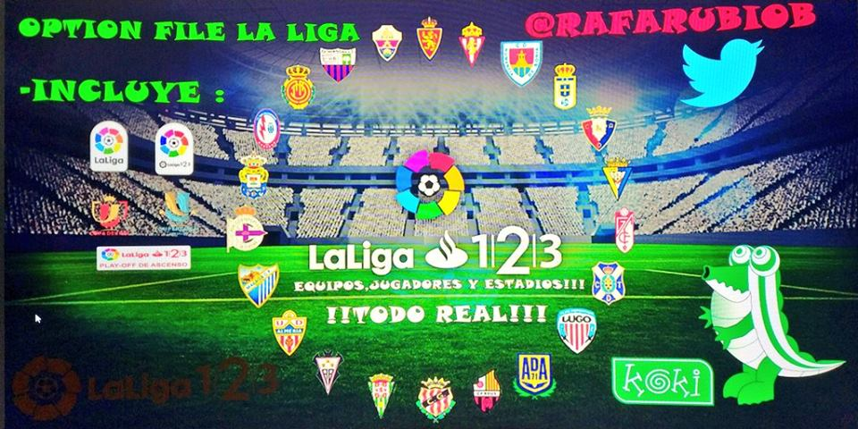 Liga 1|2|3 Option File by Rafarubiob