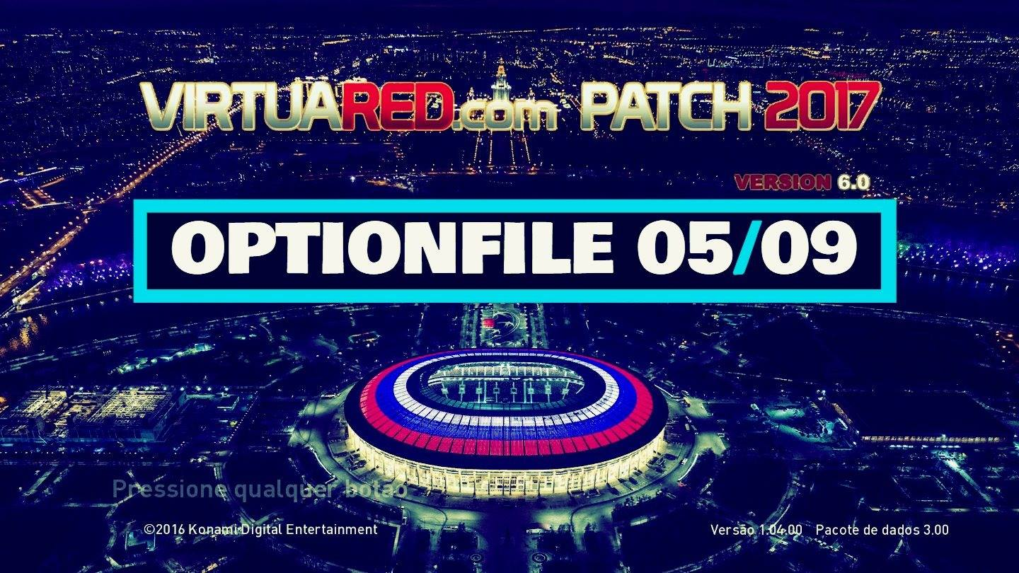 [NO OFICIAL] VirtuaRED v6 Option File 05/09/2018 by Eno Patch e Gameplay
