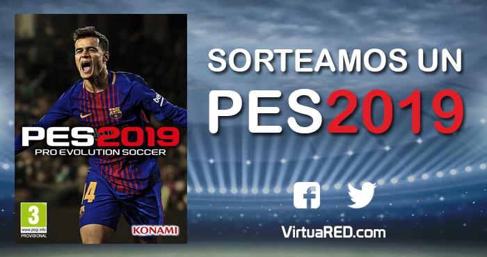 Sorteamos un PES 2019 para PC