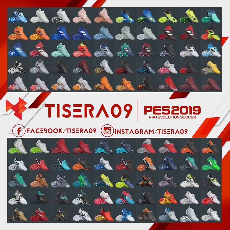 PES 2019 Bootpack V1 by Tisera09