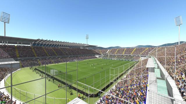 Estadio Artemio Franchi by Arthur Torres