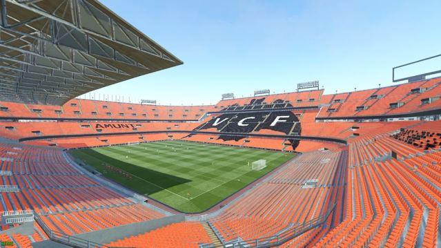 PES 2019 Estadio de Mestalla by Arthur Torres