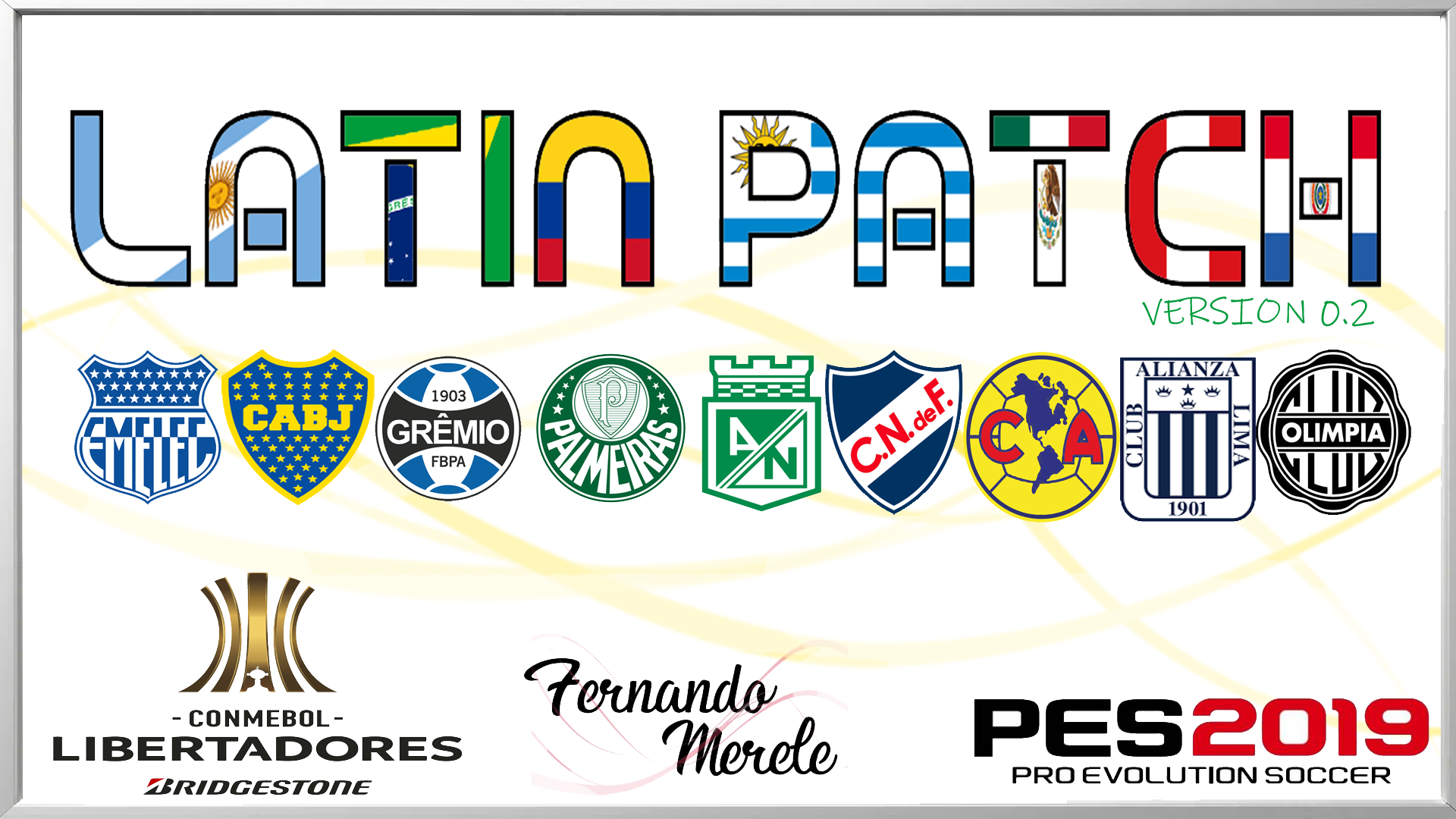 Ya disponible Latin Patch v2