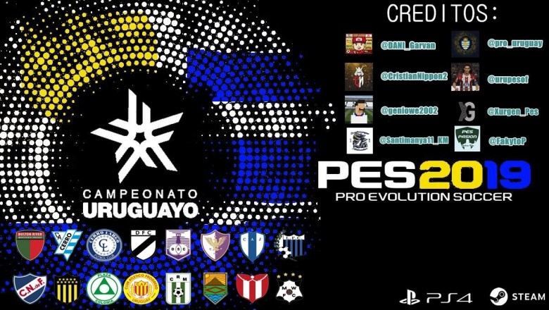 Disponible el Campeonato Uruguayo para PES 2019 de PS4 y PC