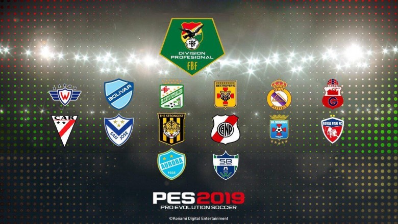 Disponible la v2 de la Liga Boliviana para PES 2019 de PS4
