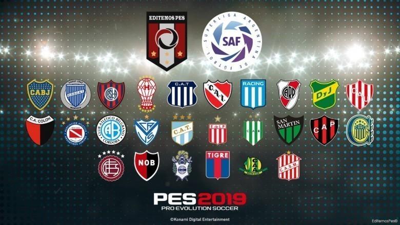 Superliga Argentina V2 para PES 2019