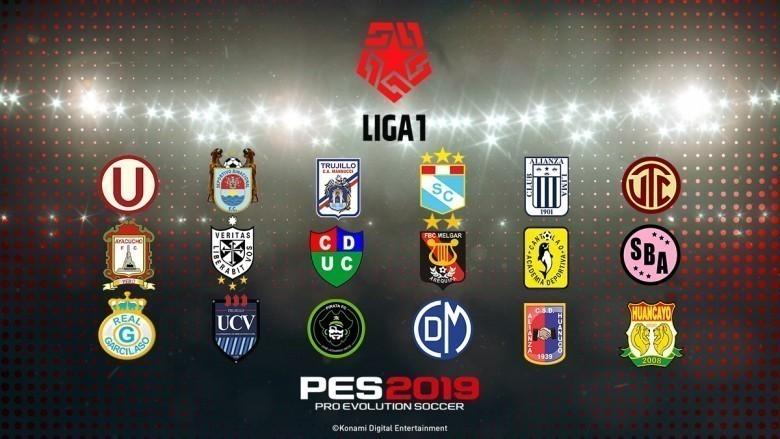 Llega la Liga 1 y Liga 2 de Perú para PES 2019 de PS4