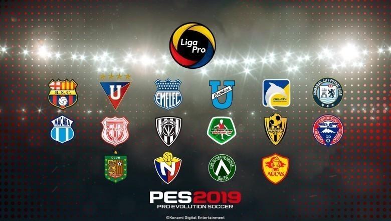 Ya se encuentra disponible el OF de la Liga PRO para PES 2019