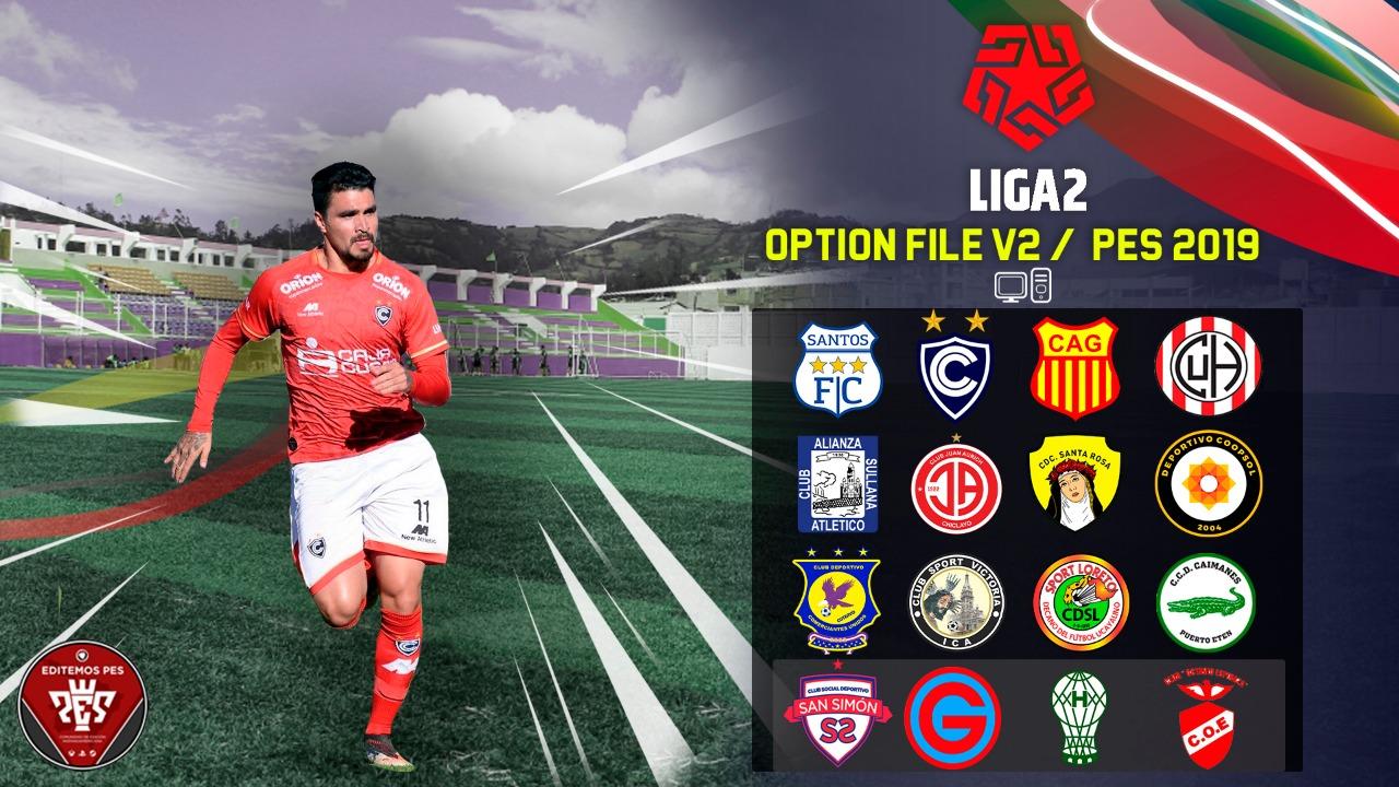 Ya disponible la Liga 1 y Liga 2 V2 de Perú para PES 2019