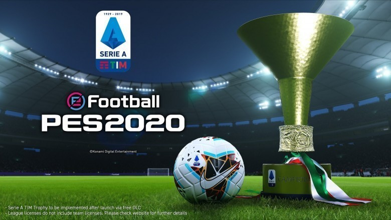 Serie A TIM estará disponible en eFootball PES 2020