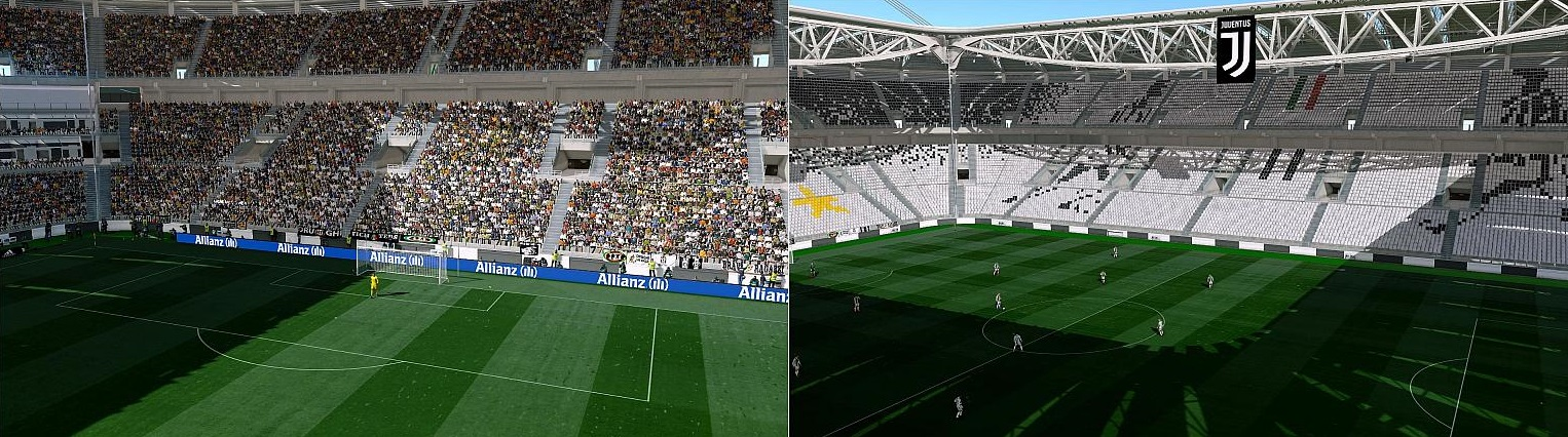 Serie A Stadiums Converted From PES2019 by Andò12345