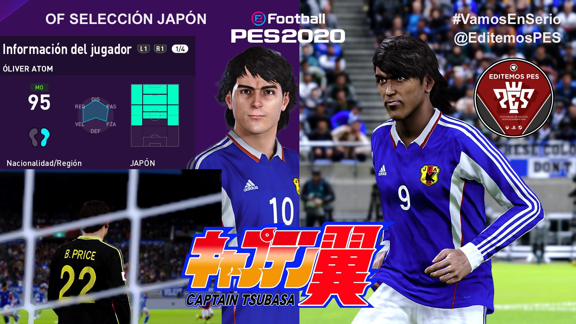Ya disponible el OF de la selección de Japón de Campeones