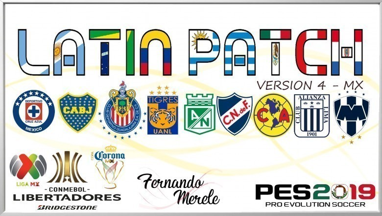 Ya disponible el Latin Patch V4.1 para el PES 2019 de PC