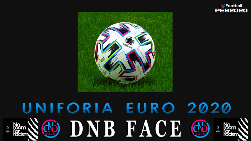 eFootball PES 2020 Ball Uniforia Euro 2020 by DNB