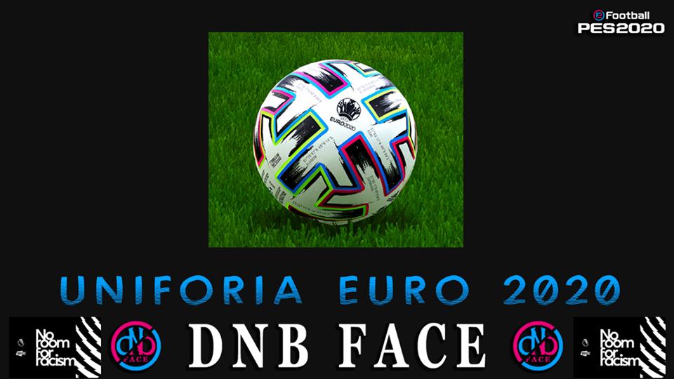 eFootball PES 2020 Ball Uniforia Euro 2020 by DNB