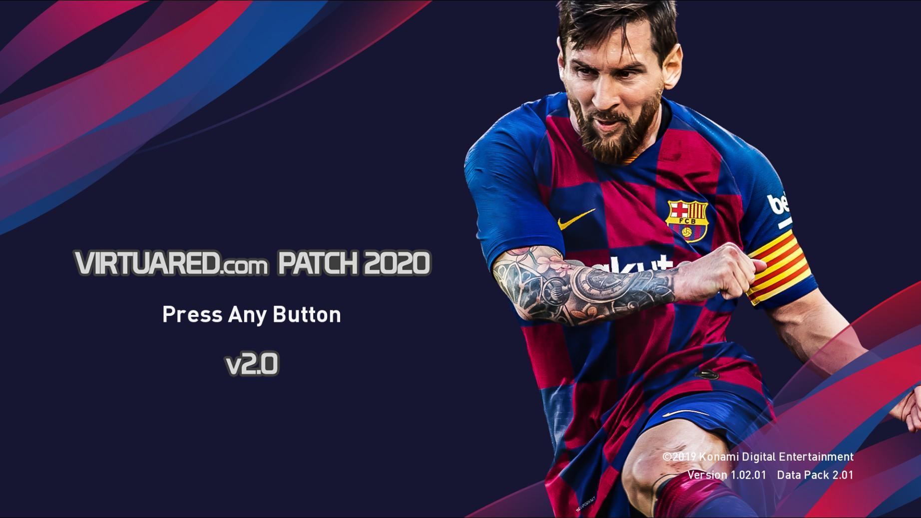 VirtuaRED.com Patch 2020 v2.0 ¡ya disponible!