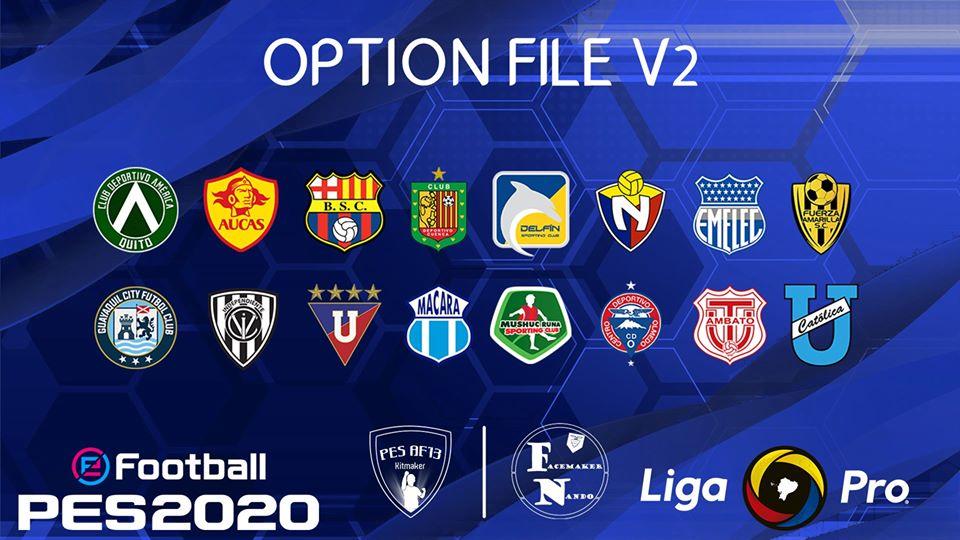 Liga Pro v2 by PES AF13 & Tio Merchan