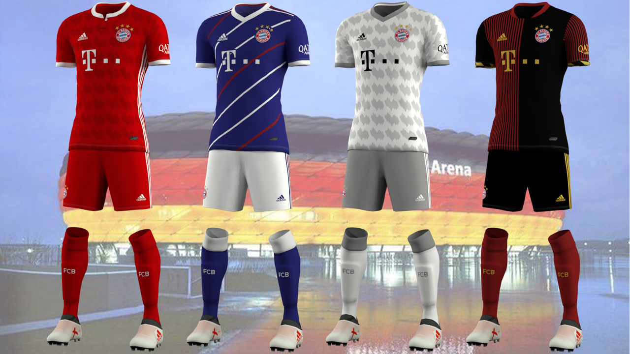 Kits Bayern Munich by EPX76