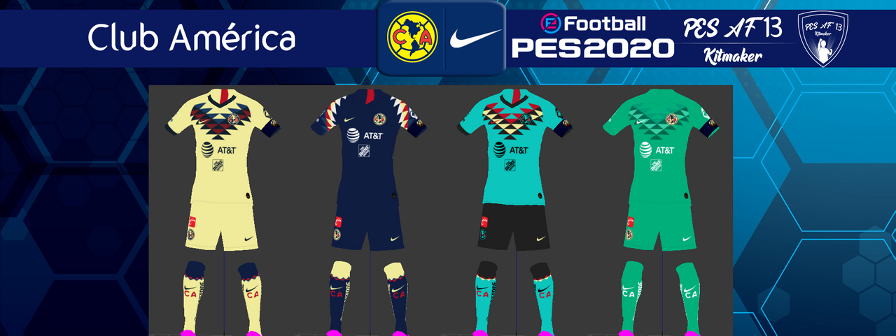 Kits Club América by PES AF13