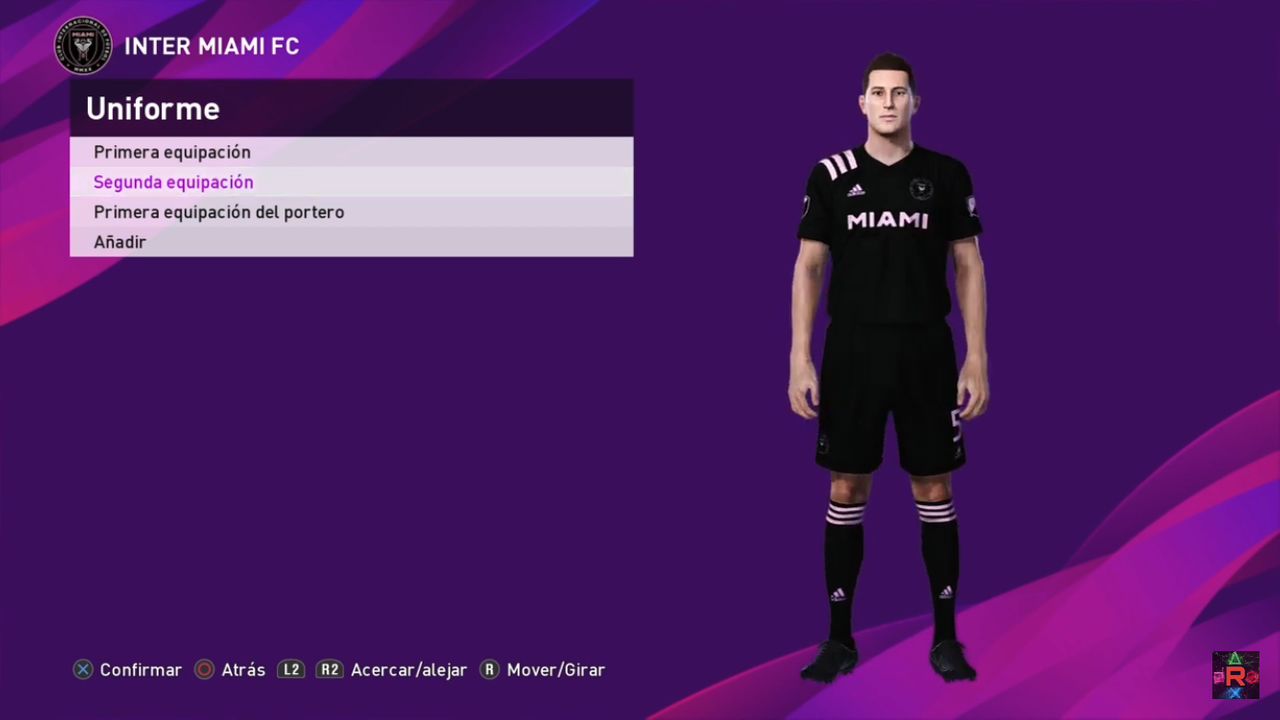 Kits + Plantilla Inter Miami FC by Iamrubenmg