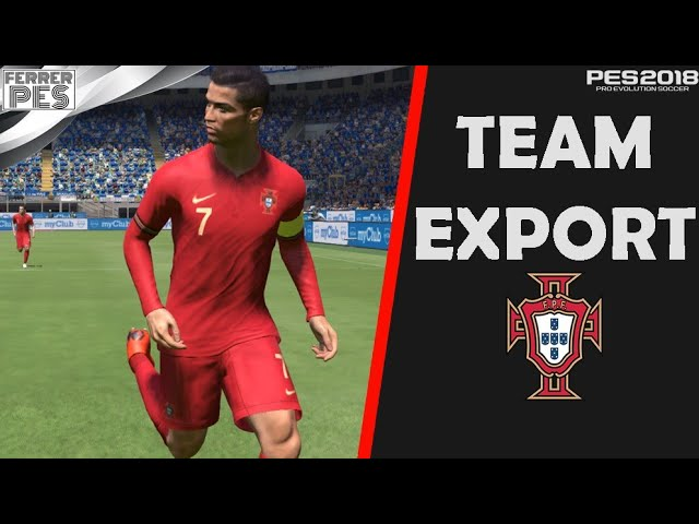 Portugal Team Export by FerrerPes