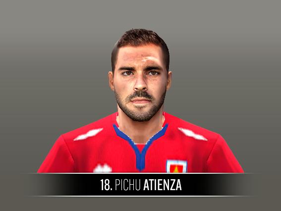 Pichu Atienza face by Castolo