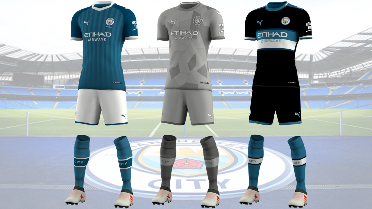 Kits fantasy Manchester City by EPX76