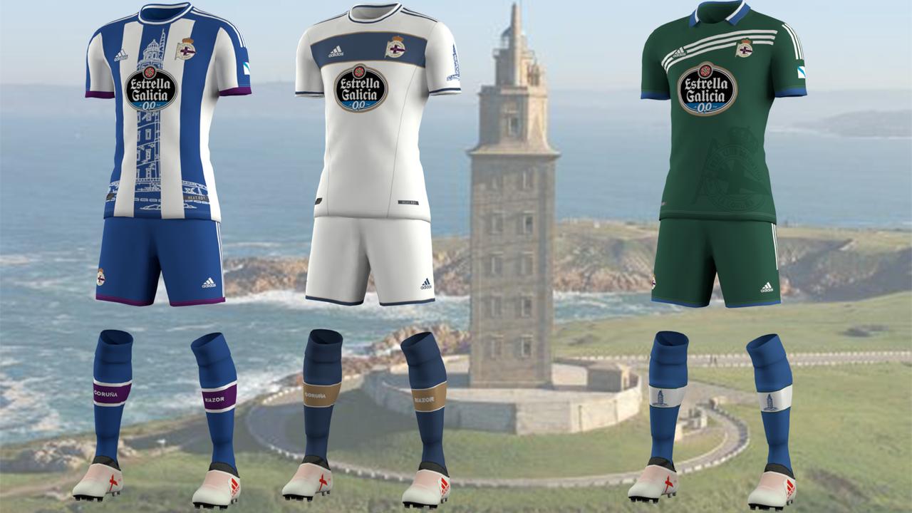 Kits Deportivo de La Coruña by EPX76
